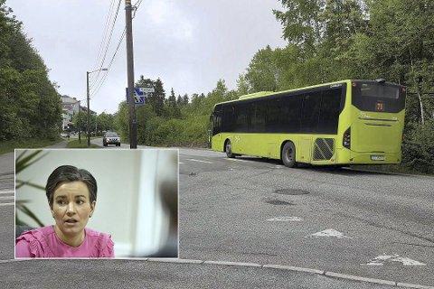 Avslutter tilbudet: Ordfører Gunn Cecilie Ringdal hadde store forhåpninger da matebussen ble lansert, men den fikk aldri ordentlig fotfeste i Lierbyen.