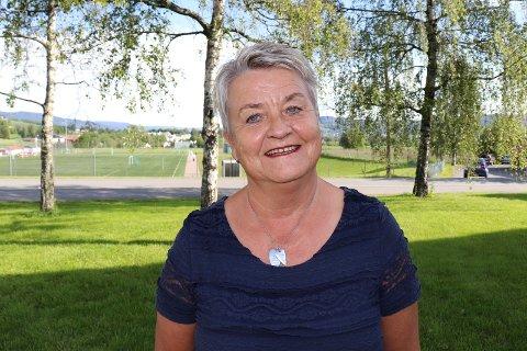 Gleder seg: Kaia Erlandsen er ny rektor på St. Hallvard vgs. og gleder seg til skolen begynner. Foto: Siri Austad