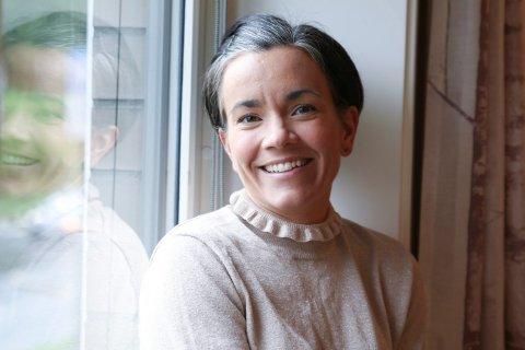 Jubler: Ordfører Gunn Cecilie Ringdal sier tredjeplassen på Kommunebarometeret er en gledelig sommernyhet.