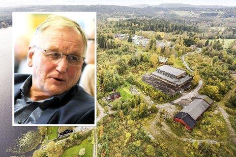 Gunnar Nebell (Ap) mener den tidligere sivilforsvarstomta på Lierskogen må kjøpes av kommunen.