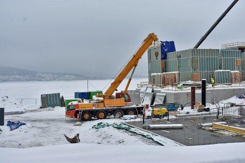 BYGGEPLASSEN BLE RUNDSTJÅLET: Totalt fire entrepenører ble berørt av innbruddet i Engersand havn i fjor vinter.