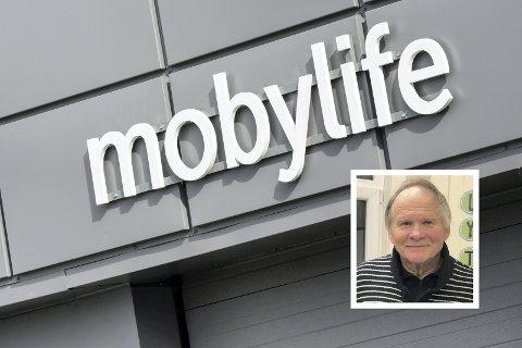 Vil ha mobilen tilbake: Tormod Brenna leverte konas mobiltelefon inn til reparasjon før Mobylife gikk konkurs. Nå holdes telefonen tilbake.