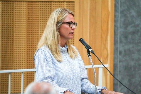 FIKK VEDTATT: Silje Kjellesvik Norheim (Ap) svarte opp advarslene fra mindretallspartiene: -Ren spekulasjon, sier hun.