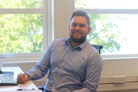 Kjetil Lislelid (31) begynte 1. september hos Norgips. Der har han blant annet hovedansvar for at det kjøpes inn og produseres rett mengde med varer, til rett tid, slik at kundene får det de bestiller.