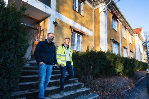 Klager: Både Richard Skaar Thorsrud (t.v.) og Thomas Lie i Solicitu mener vedtaket om Vestsideveien 100 er gjort på feil grunnlag.