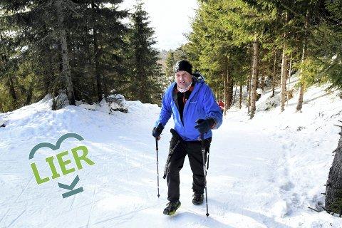 Ekstrem-gåing: Ottar Røed gikk 1000 kilometer i januar, og tar det som god trening til sommerens store høydepunkt. Da skal 61-åringen delta i løpet Oslo Bergen Trail, og gå/løpe 515 kilometer og 18000 høydemeter på åtte dager.