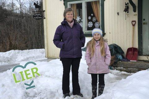 Paradiset: Ingrid Halbo var Oslojenta som fant sitt  paradis innerst i en liten bortgjemt dal på Sjåstad. Sammen med datteren Tuva og en liten flokk med dyr stortrives hun i Kjåkadalen.
