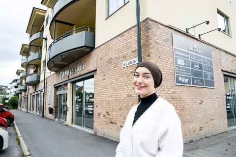 """""""LIERKROA LIGHT"""": Asli Bokatekin står klar til å åpne kafe i Bakerikvartalet med fra Lierkroa, og basert på de mest populære rettene fra den populære kafeen i Lierbakkene."""