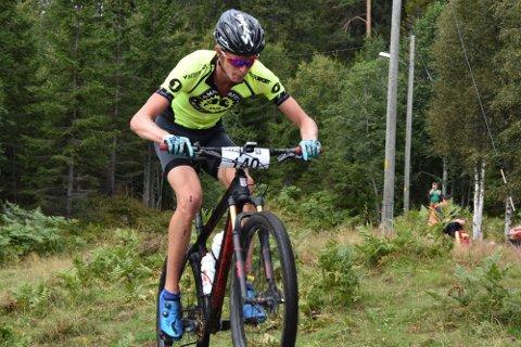 Fjorårsvinneren er klar: Øyvind Bjerkeseth fra Lierskogen og Hammerfest Sykkelklubb vant Hauernrittet i 2020, og er klar for å kjempe om en ny seier i år. Det ser imidlertid ut til at Bjerkeseth får atskillig færre syklister med seg rundt i løypa dette året.