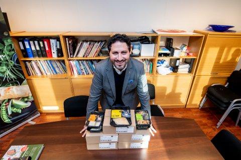Stolt: Rami Haug Khoury er arbeidende styreleder i familiebedriften Waldemars i Lillestrøm.