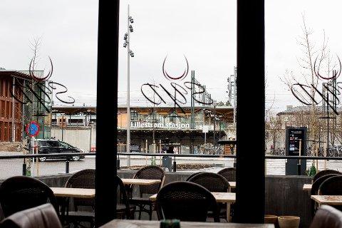 Stengte dører: Restaurant Syd, like ved Lillestrøm stasjon, stengte dørene for godt like før jul.