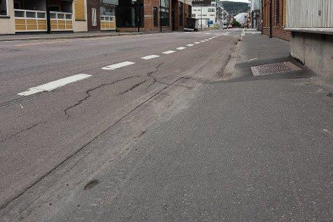 STENGES: I minst halvannet år vil den sterkt trafikkerte Storgata i Lillestrøm bli stengt. Nå foreligger hovedlinjene for trafikkavviklingen.