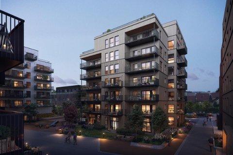 PRIS: – Det er vanskelig å vite hvordan man skal prise denne typen leiligheter, men vi har etter hvert solgt mange toppleiligheter i Lillestrøm og har bra med sammenligningsgrunnlag, sier megler Tom-Richard Seim.