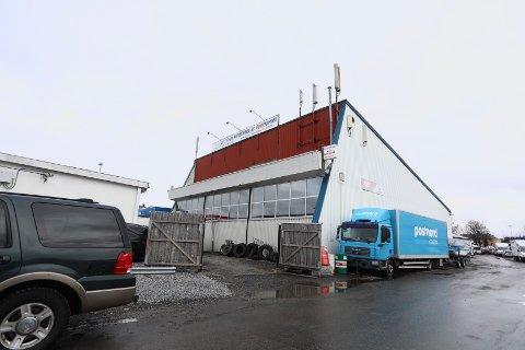 Meldte oppbud: Lillestrøm Distribusjon AS, som har holdt til i disse lokalene i Depotgata.