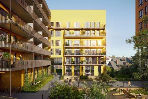 OMSTRIDT: Naboene vil stopep utbyggingsplanene i Kvartal 39 i Lillestrøm, blant annet på grunn av byggehøyden.