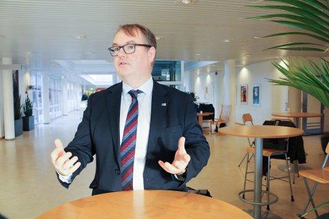 BER ORDFØREREN OM Å SNU: Høyres Kjartan Berland vil ikke legge ned sengepost 3 på Skedsmotun bo- og behandlingssenter.