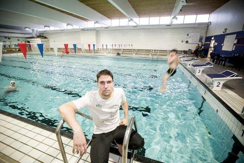 KORT FRIST: – Vi hadde ingen planleggingstid eller tid til å informere medlemmene, sier Marcel Rosenberg, daglig leder i Triton Lillestrøm svømme- og triatlonklubb.