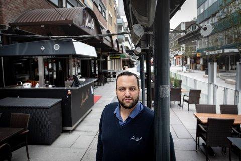 SKAL IKKE VÆRE SÅNN: Daglig leder ved Mirabel, Omar El-Khatib forteller at han beklager kundenes opplevelse. Samtidig stusser han på noe av grunnlaget bak klagen.
