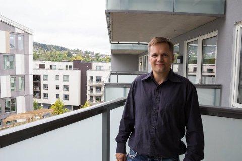NYE KONSEPTER: Prosjektsjef Stian Svae i OBOS Nye Hjem AS ønsker å gi flere mulighet til å oppfylle boligdrømmen.