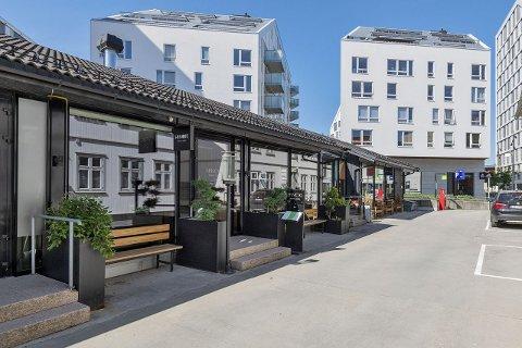LEDIG LOKALE: Lokalene etter den anerkjente restauranten Hinoki står ledige. Det er betydelig interesse i markedet.