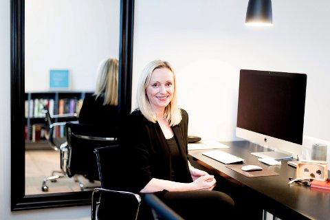 HÅPER PÅ HØSTEN: Gunn Helen Hagen, administrerende direktør i Norges Varemesse.