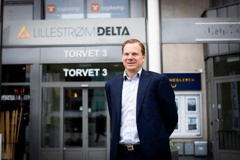 OVERRASKET: Rolf Th. Holm, daglig leder Lillestrøm Delta, forteller at han er overrasket over politikernes avgjørelse om å sende saken tilbake.