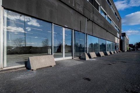 NYE PLANER: Den søndagsåpne avdelingen til Kiwi Kjeller er nå fjernet, mens resten av butikken utvides. Foto: Vidar Sandnes