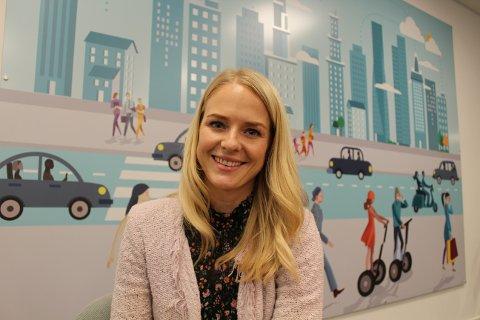 PÅ TOPPLISTE: Susanne Ludvigsen er plukket ut som en av de 50 fremste kvinnene i teknologibransjen.