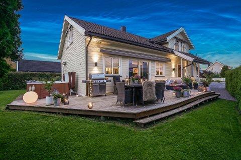 ENEBOLIG: Eneboligen på Vigernes ble solgt for 9,8 millioner kroner - 1,2 millioner over prisantydning.
