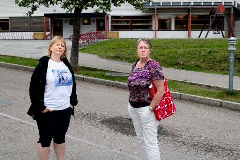 MINDRE VERDT: Nina Adele Nielsen og Nina Løken jobber begge som lærere. Førstnevnte er også leder for Utdanningsforbundet i Lørenskog. De føler at deres utdanning er mindre verdt når det i 2025 settes nye krav med tilbakevirkende kraft.