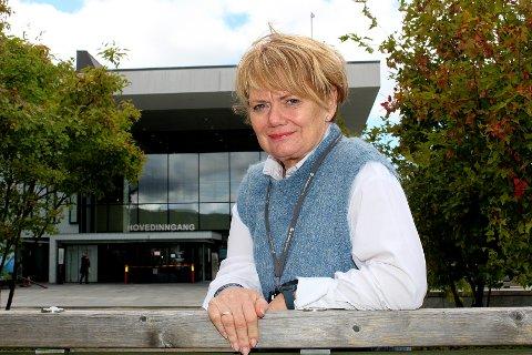 STILLER SEG BAK AHUS: Lørenskog-ordfører Ragnhild Bergheim (Ap) mener det er potensial for noe stort dersom OsloMet etablerer seg på Nordbyhagen, og støtter Ahus i arbeidet med å få en ny campus hit.
