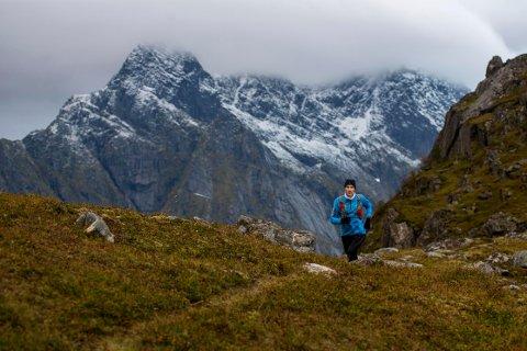 Marius jørgensen i fint driv i fjellet. Foto: Kai-Otto Melau