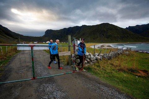 Gøran Rasmussen Åland, Marius Jørgensen og Svein Vestøl. Foto: Kai-Otto Melau
