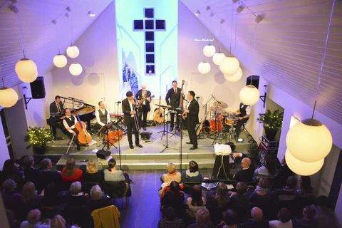 420 publikummere overvar Adventkirkens tre konserter fredag og lørdag på Leknes.