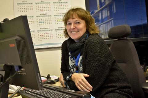 Informerer pasientene: På minebehandlingsvalg. no kan pasientene lese seg opp på behandlingsalternativer, sier Jorunn Brendeford på Nordlandssykehuset.
