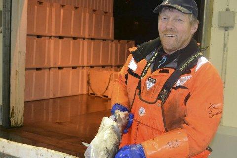FISK: Børge Iversen er en av tre fra Lofoten som er nominert til å bli Årets navn innen sjømatnæringen.