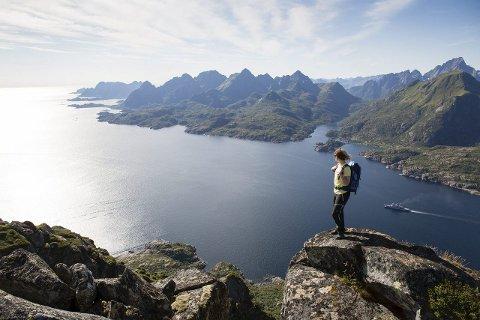 Vakkert: Utsikt over Vågan. Foto: Kristin Folsland Olsen