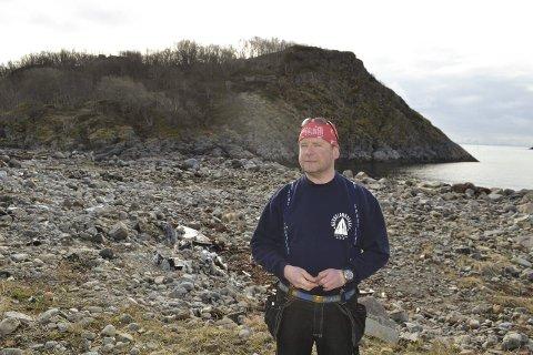 Stor jobb: På vegne av selskapet Kreta AS, er Erik Berg Blomstrand i gang med en storstilt utbygging av området i Kabelvåg.