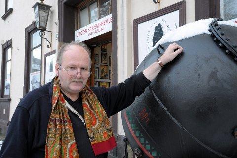 Foredrag: Tirsdag kveld vil William Hakvaag holde foredrag om krigen, sett fra Lofoten.