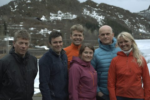 Styret i Lofoten High 5 Svolvær: Fra venstre Harry Strøm, Tore Fauske, Stein Alsos, Karin Antonsen, Harald Varvik Johnsen og Gry Falch Olsen i styret i Lofoten High 5 Svolvær.