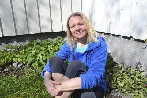 Går bra!: Eirin Egghjem har vært rusfri i to år, tre måneder og 17 dager.Foto: Karin P. Skarby
