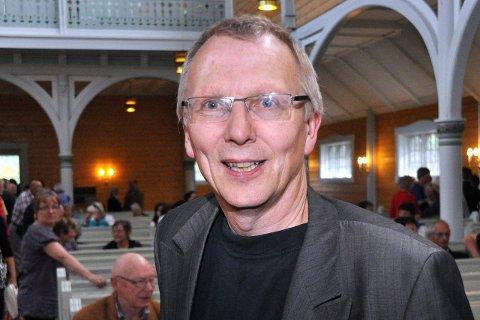 Fornøyd: Knut Kirkesæther er fornøyd med å ha to store stjerner på samme festival.