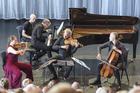LIDENSKAPELIG: Tyske Fauré kvartett tolket intense følelser ført i pennen av en forelsket tenåring