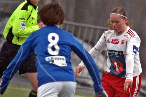 Lovende: Marita Holmen Iversen fra Ballstad kan havne i Roger Finjords tropp om noen år.