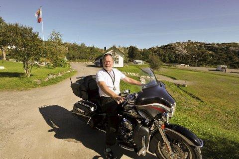 Harleytreff 2016: Kjell Normann sier at i august neste år kommer 5000 motorsykler til Harley-treffet i Vågan.
