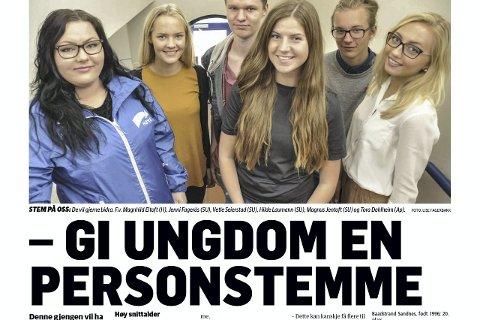 Se oss: Faksimile Lofotposten 5. september 2015.