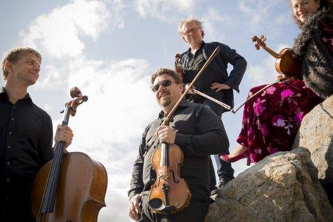 «Husbandet»: Engegårdskvartetten kommer - som vanlig - til Lofoten Piano Festival. Foto: Espen Mortensen