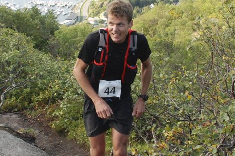 Fornøyd: Hallvard Schjølberg er fornøyd med egen prestasjon under Ecotrail Madeira. Her er han avbildet under Lofoten High 5 tidligere i år.FOTO: ARKIV