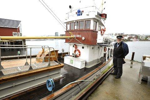 Vernet: Jakten Anne Bro til Vågan Kystlag trenger sårt til midler for å få nytt skipsdekk på det 106 år gamle fartøyet, kan Johannes Rørtveit fortelle.