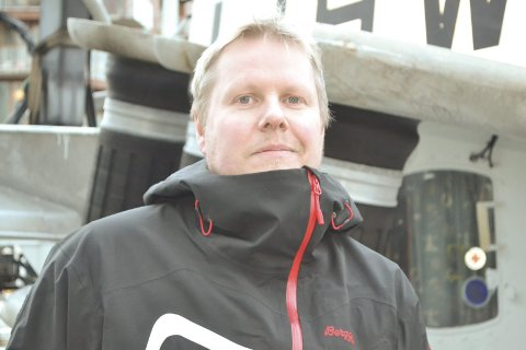 Satser friskt: Kim Ole Fredriksen (41) satser friskt på nyervervelsen. Etter at han ble utdannet fiskeskipper, dro han ut i offshore, men kom hjem til Lofoten etter noen år og drev båt sammen med Svend Johannesen. Foto: John-Arne Storhaug.